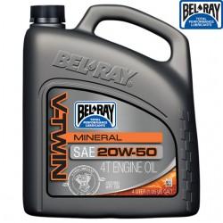 Ulei motor Bel-Ray V-Twin Mineral 20w50 4L - Bel Ray