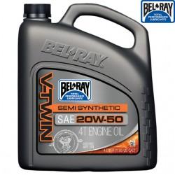 Ulei motor Bel-Ray V-Twin Semi-Synthetic 20w50 4L - Bel Ray