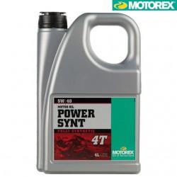 Ulei motor Motorex Power Synt 5w40 4L - Motorex